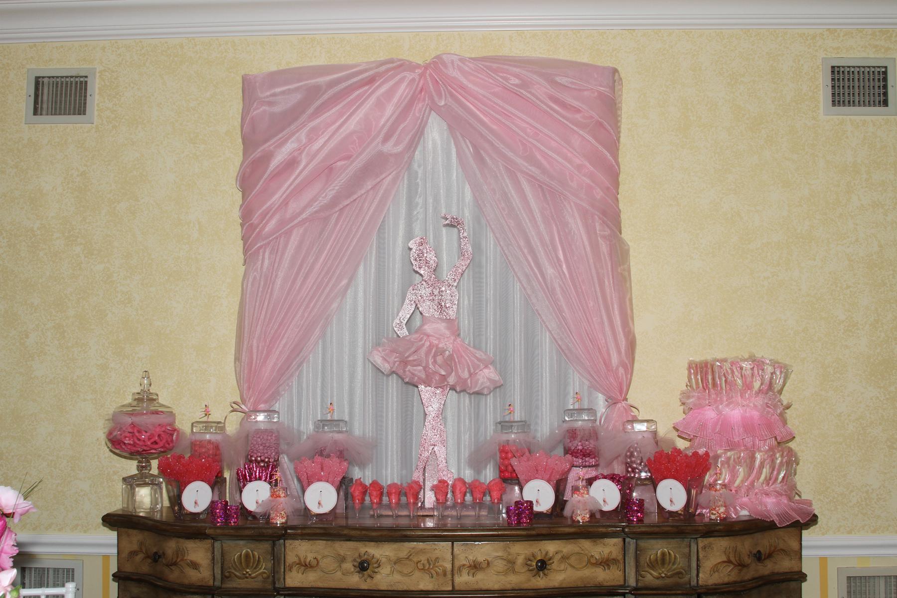 Decor vicki ades photography for Ballerina party decoration